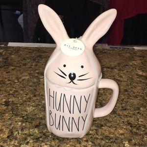 Rae Dunn Spring Pink Hunny Bunny Mug